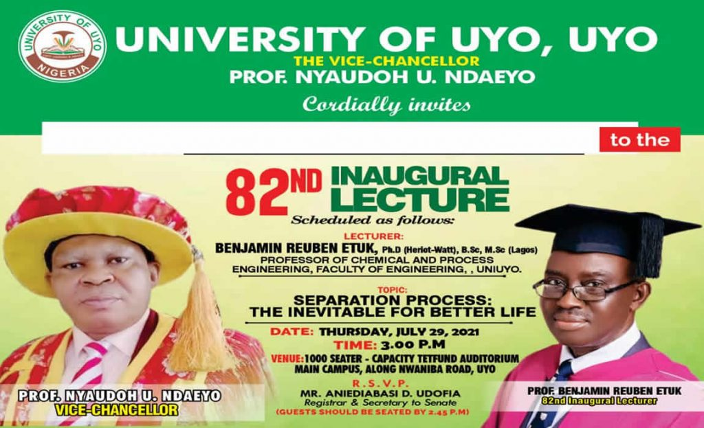 82nd InauguralLecture