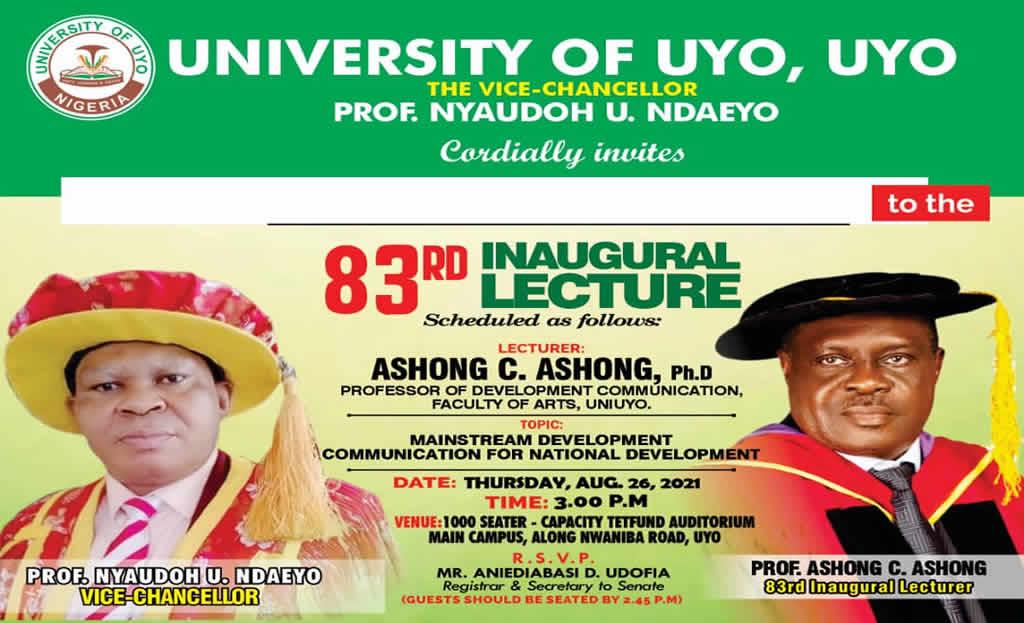Prof. Ashong c. Ashong, a Professor of Development Communication